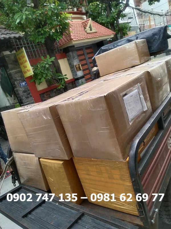 Gửi hàng đi Campuchia với lượng hàng lớn